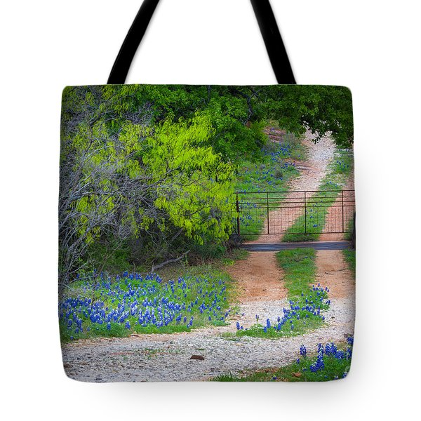 Hill Country Road Tote Bag
