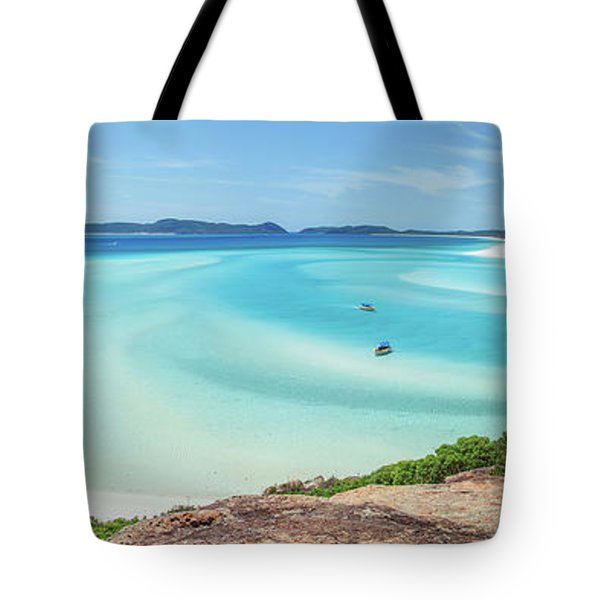 Hill Inlet Lookout Tote Bag