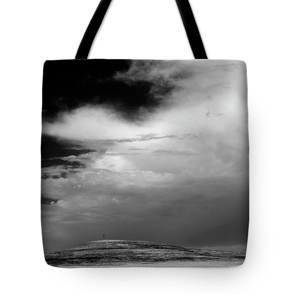 Hill Top Cross Tote Bag