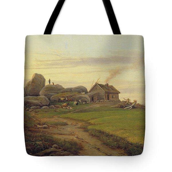 Hill Top Tote Bag