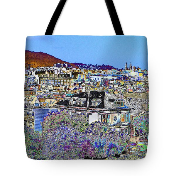 Hill Top Tote Bag