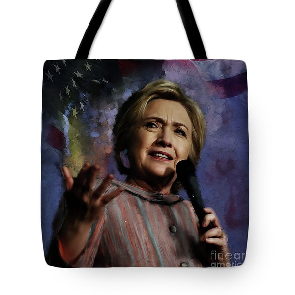 Hillary Clinton 01 Tote Bag