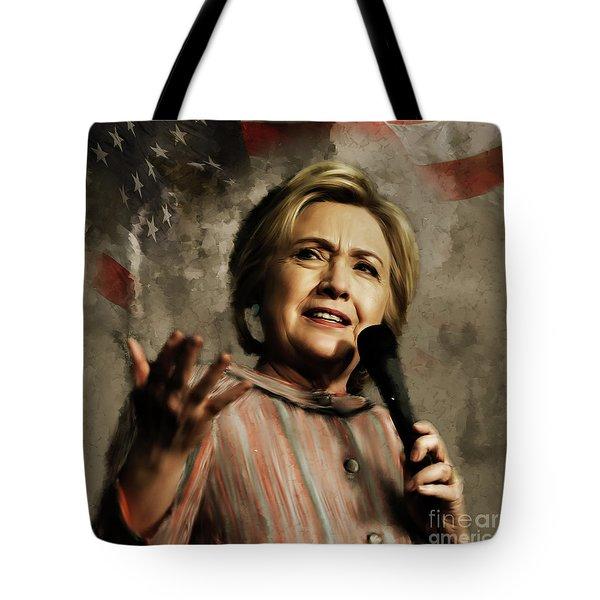 Hillary Clinton 02 Tote Bag