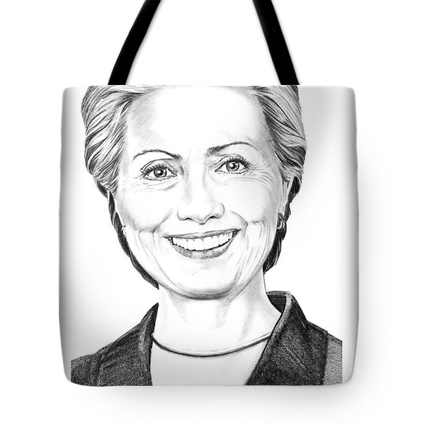 Hillary Clinton Tote Bag by Murphy Elliott