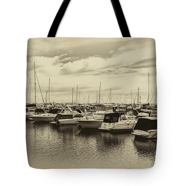 Tote Bag featuring the photograph Hillarys Boat Harbour, Western Australia by Elaine Teague