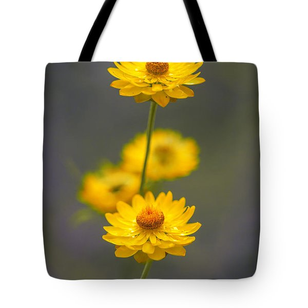 Hillflowers Tote Bag by Az Jackson
