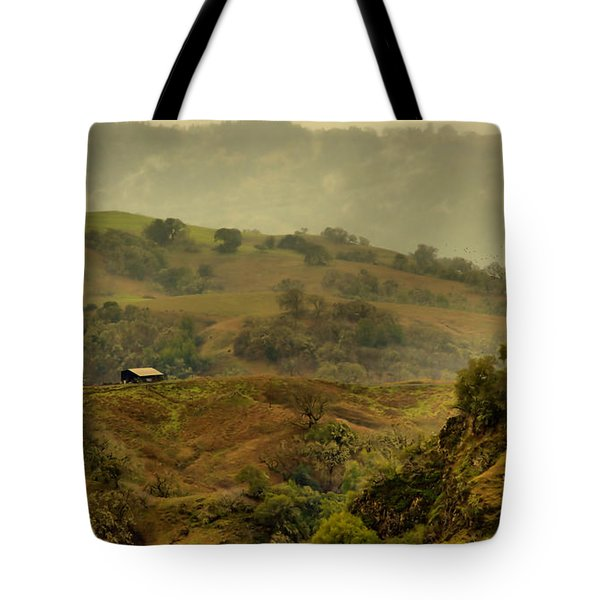 Hills Above Anderson Valley Tote Bag by Josephine Buschman