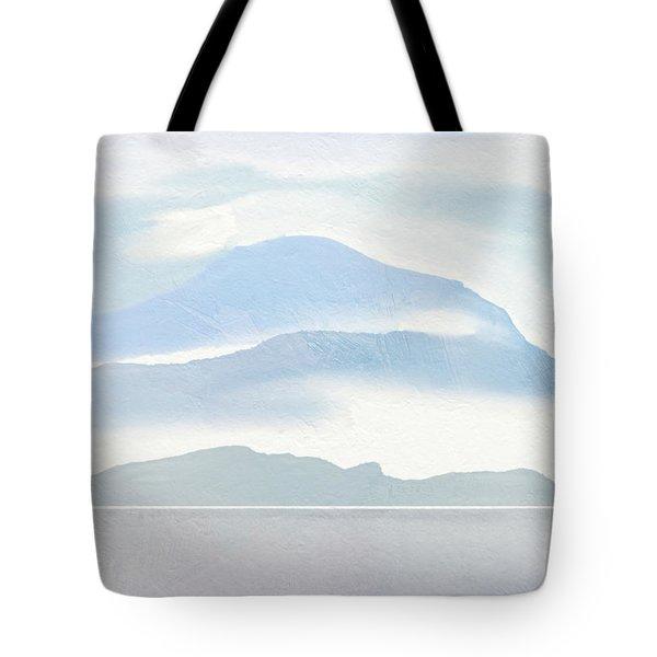 Hills In Borneo Tote Bag