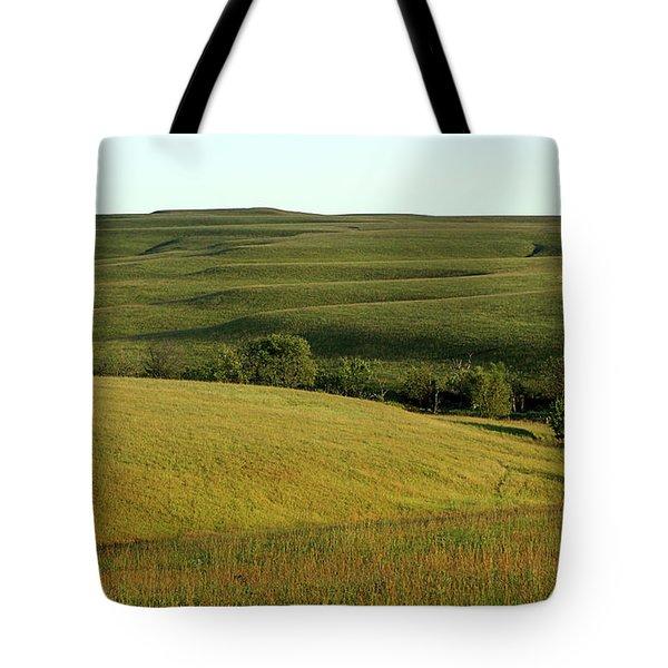 Hills Of Kansas Tote Bag