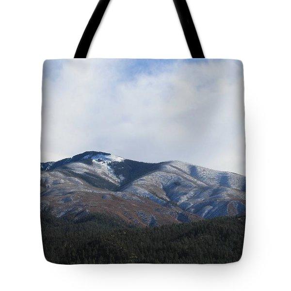 Hills Of Taos Tote Bag