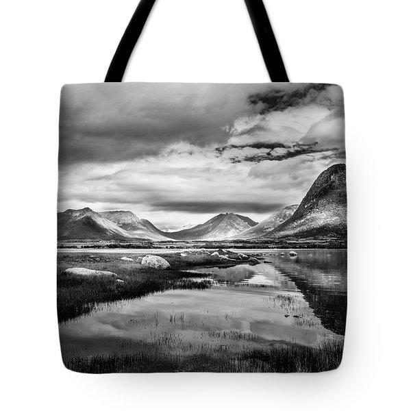 Hills Of Vesteralen Tote Bag