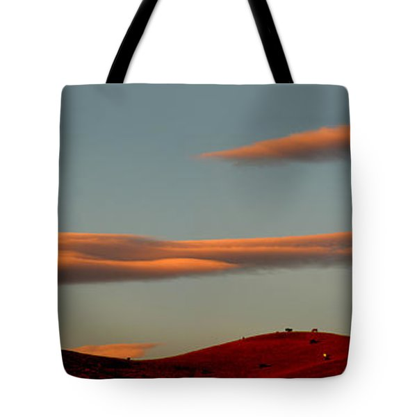 Hills Under The Sunset Clouds Of Sonoma County California Tote Bag