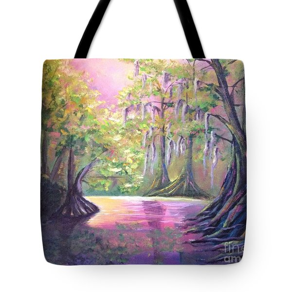 Withlacoochee River Nobleton Florida Tote Bag