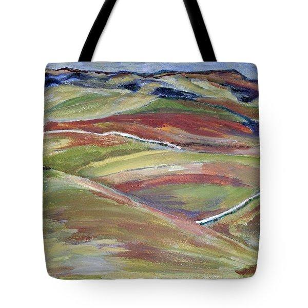 Northern Hills, Clare Island Tote Bag