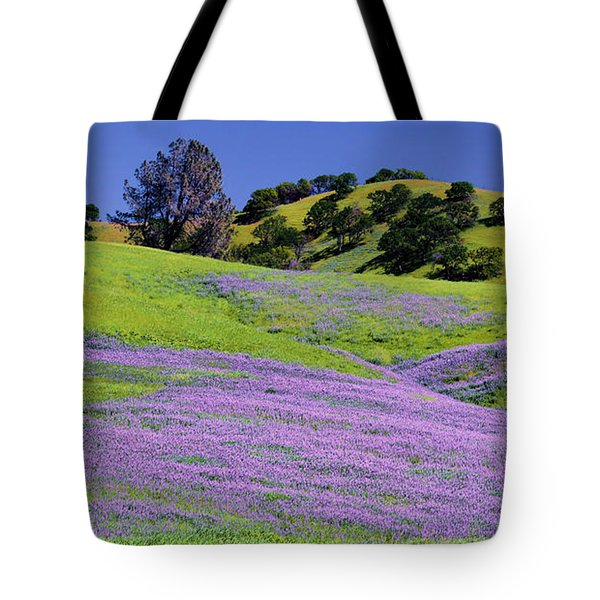 Hillside Carpet Tote Bag