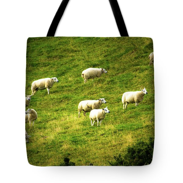 Hillside Pasture Tote Bag