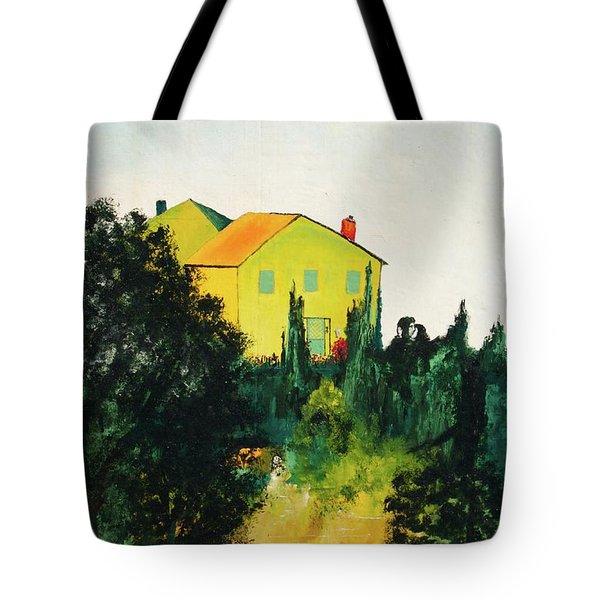 Hillside Romance Tote Bag