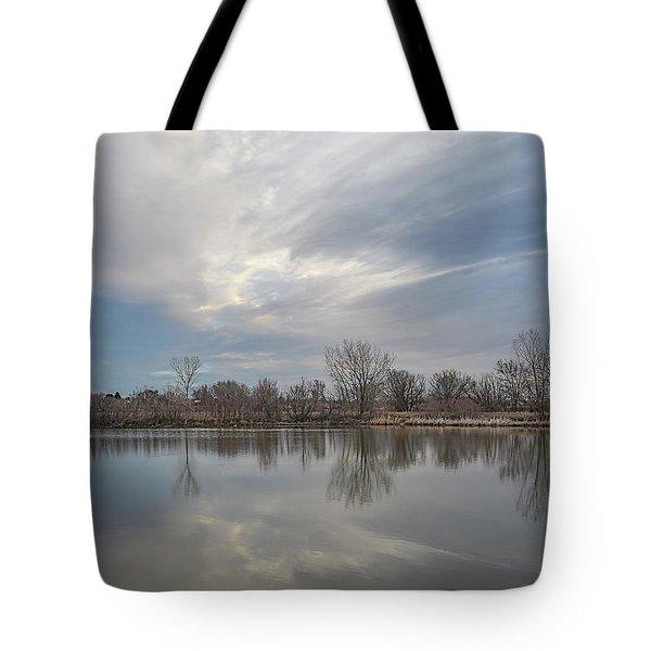 Hillside Sky Tote Bag