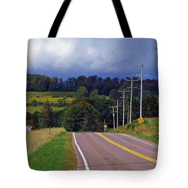 Hillside Ways Tote Bag