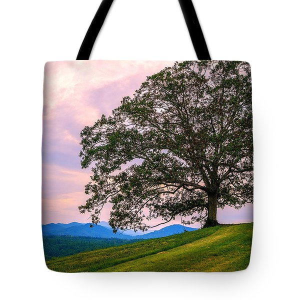 Hilltop Oak Tote Bag