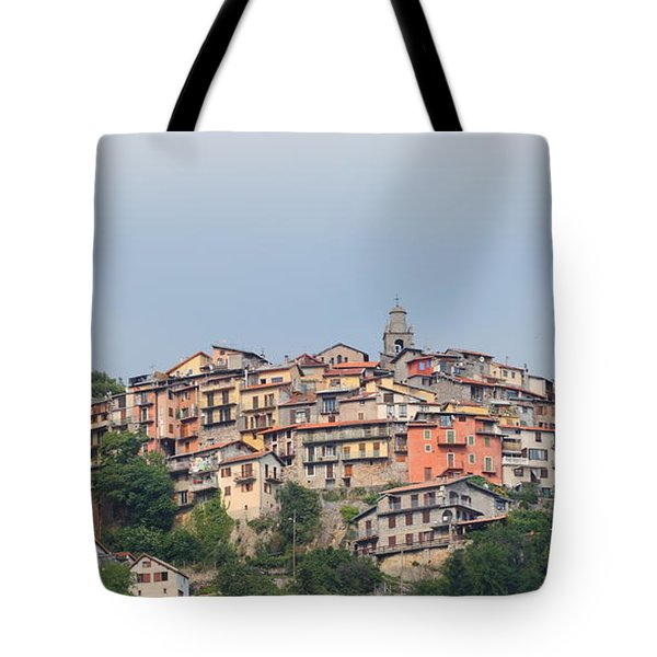 Tote Bag featuring the photograph Hilltop by Richard Patmore