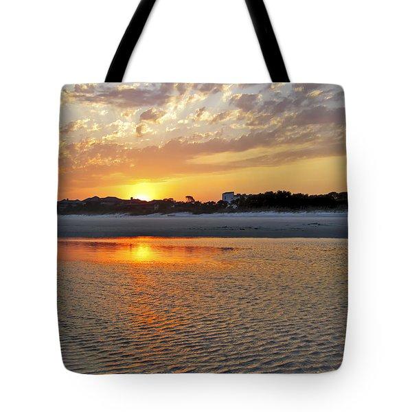 Hilton Head Beach Tote Bag by Phill Doherty