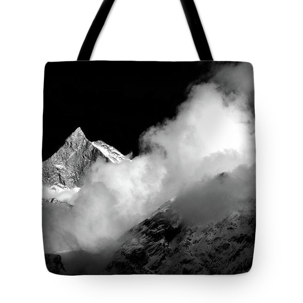 Himalayan Mountain Peak Tote Bag