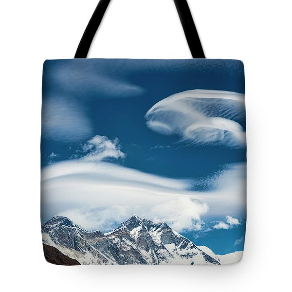 Tote Bag featuring the photograph Himalayan Sky by Dan McGeorge