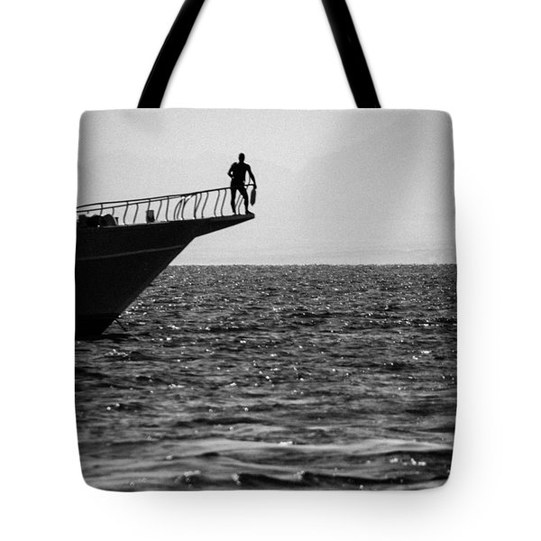 Tote Bag featuring the photograph Hindi Mo Pa Oras by Jez C Self