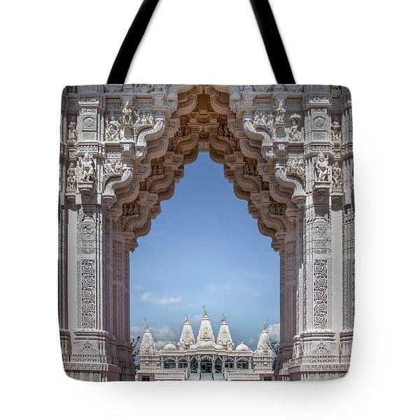 Hindu Architecture Tote Bag