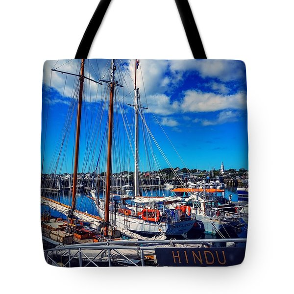 Tote Bag featuring the photograph Hindu by Kendall McKernon