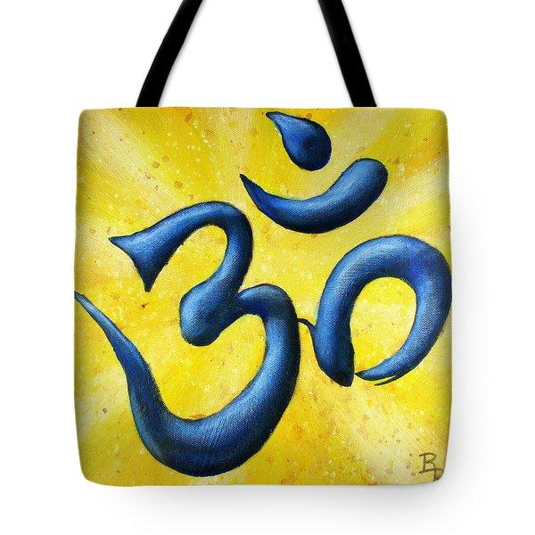Hindu Om Symbol Art Tote Bag