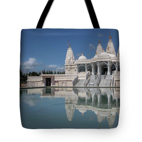 Hindu Temple Tote Bag