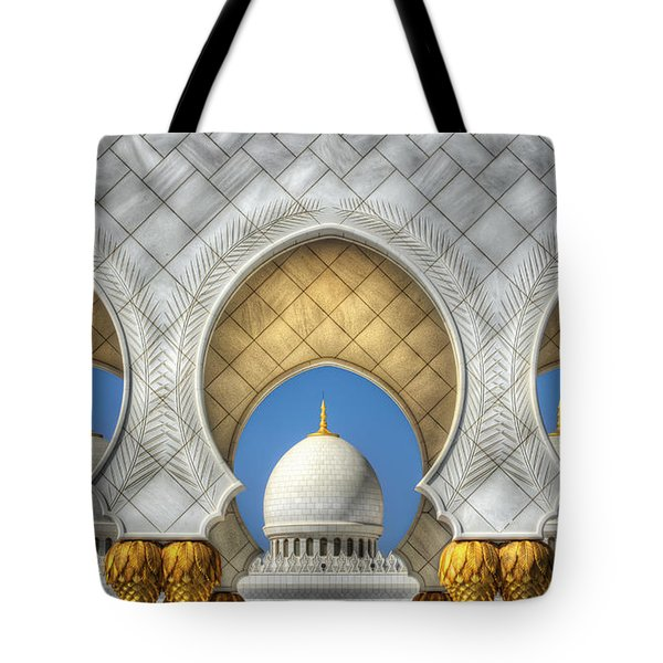Tote Bag featuring the photograph Hindu Temple by John Swartz