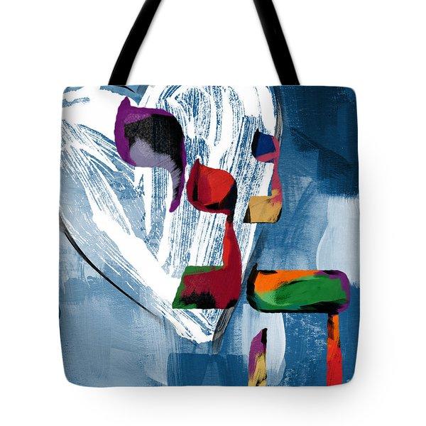 Hineni Heart- Art By Linda Woods Tote Bag