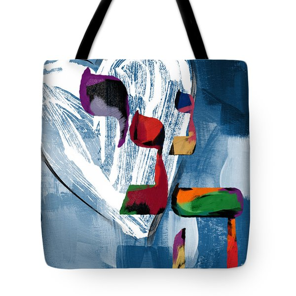 Hineni Heart- Art By Linda Woods Tote Bag