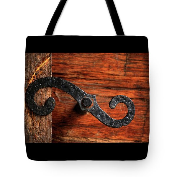 Hinged Tote Bag