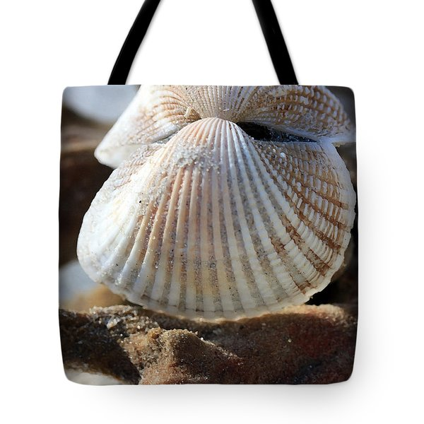 Hinged Together Tote Bag