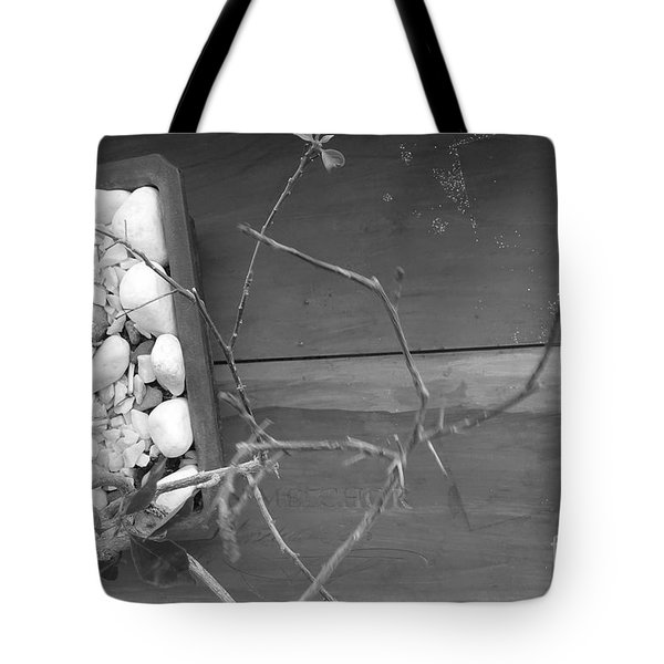 Hints Of Red Tote Bag