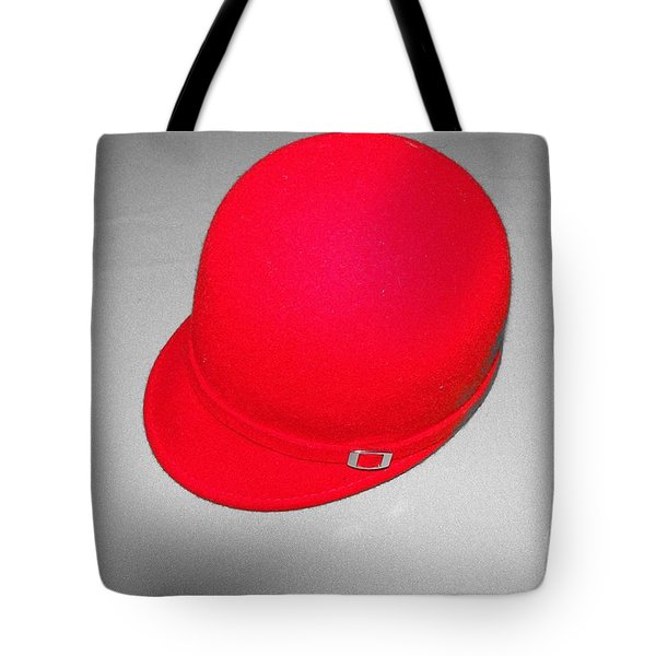Hints Of Red - Hat Tote Bag