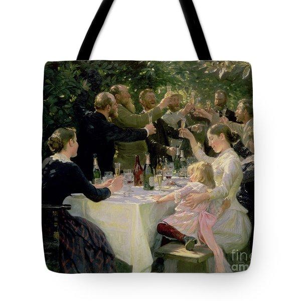 Hip Hip Hurrah Tote Bag