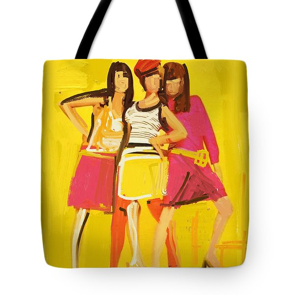 Hip Time Tote Bag