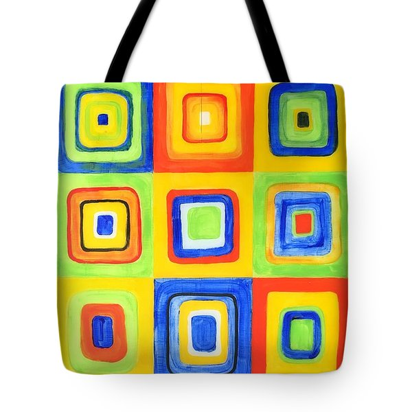 Hip To Be Square Tote Bag