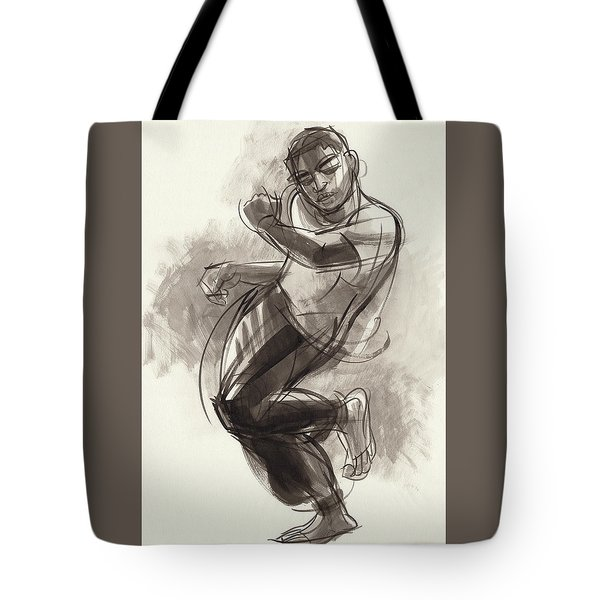 Hiphop Dancer 2 Tote Bag