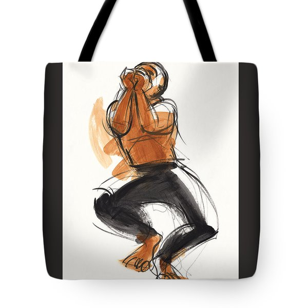 Hiphop Dancer Tote Bag