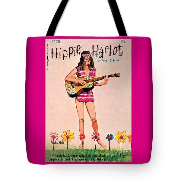 Hippie Harlot Tote Bag