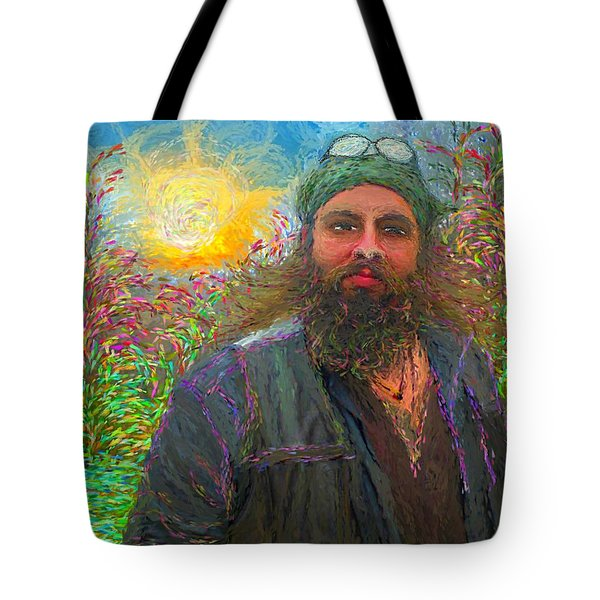 Hippie Mike Tote Bag