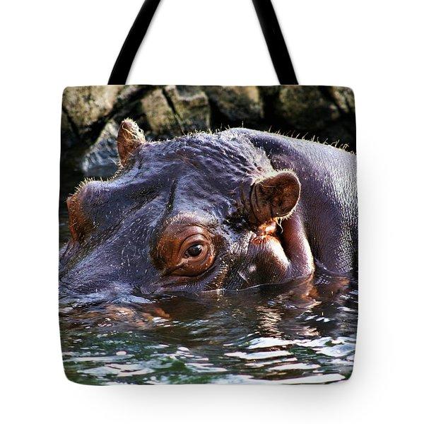 Hippo 3779_2 Tote Bag