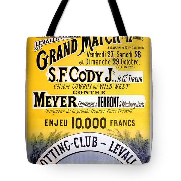 Hippodrome Du Trotting Club Levallois Tote Bag