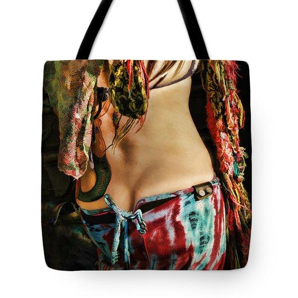 Hippy Back Tote Bag by Blake Richards